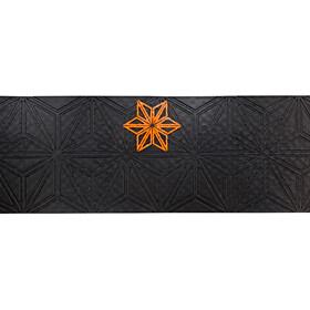 Supacaz Super Sticky Kush Starfade Handlebar Tape, neon orange print